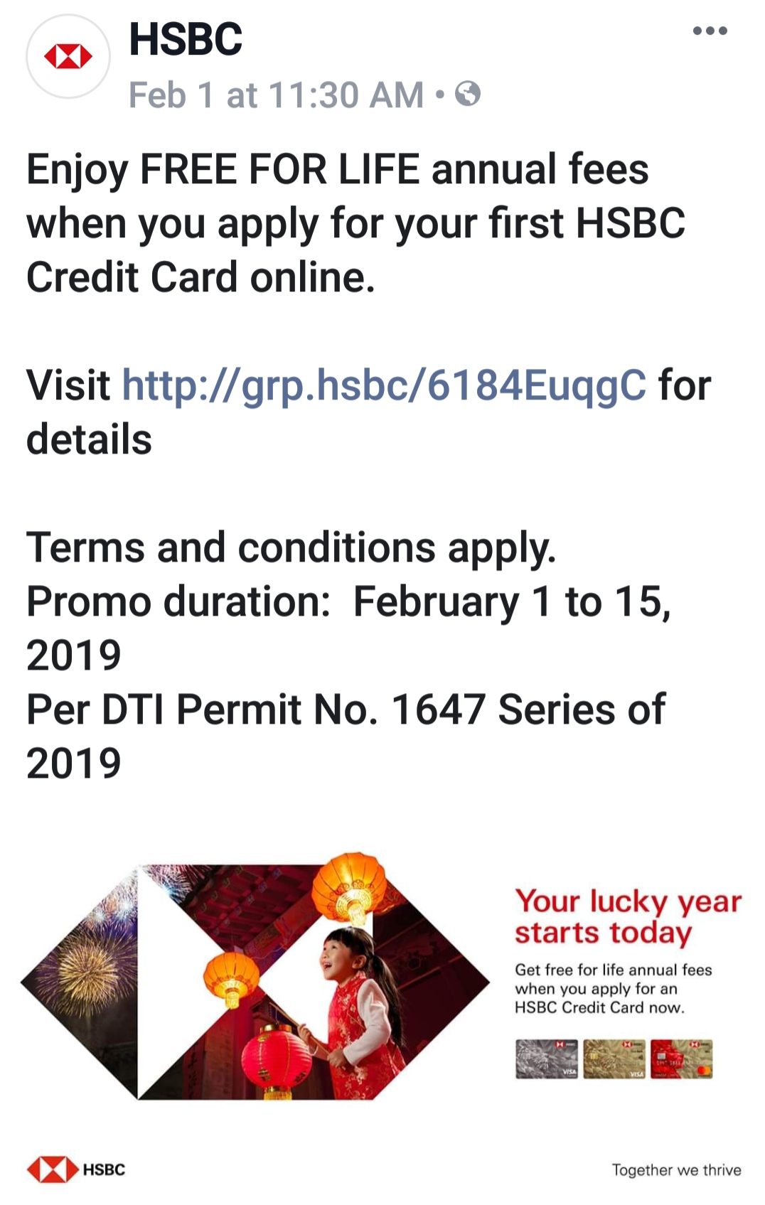 HSBC Credit Cards (Thread III) - Page 215 — PinoyExchange com