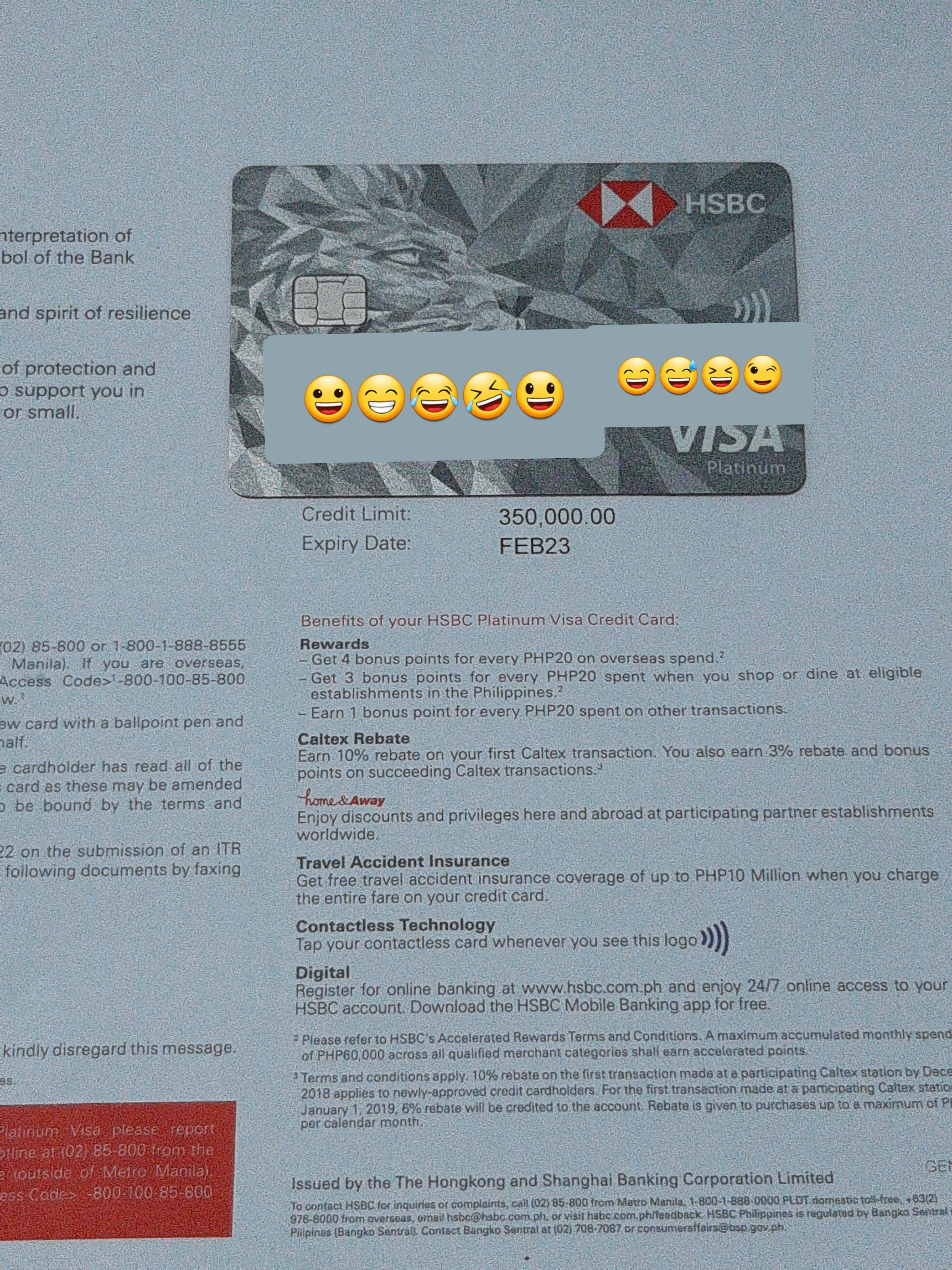 HSBC 滙豐 Hong Kong and Shanghai Banking Corporation - Credit Cards