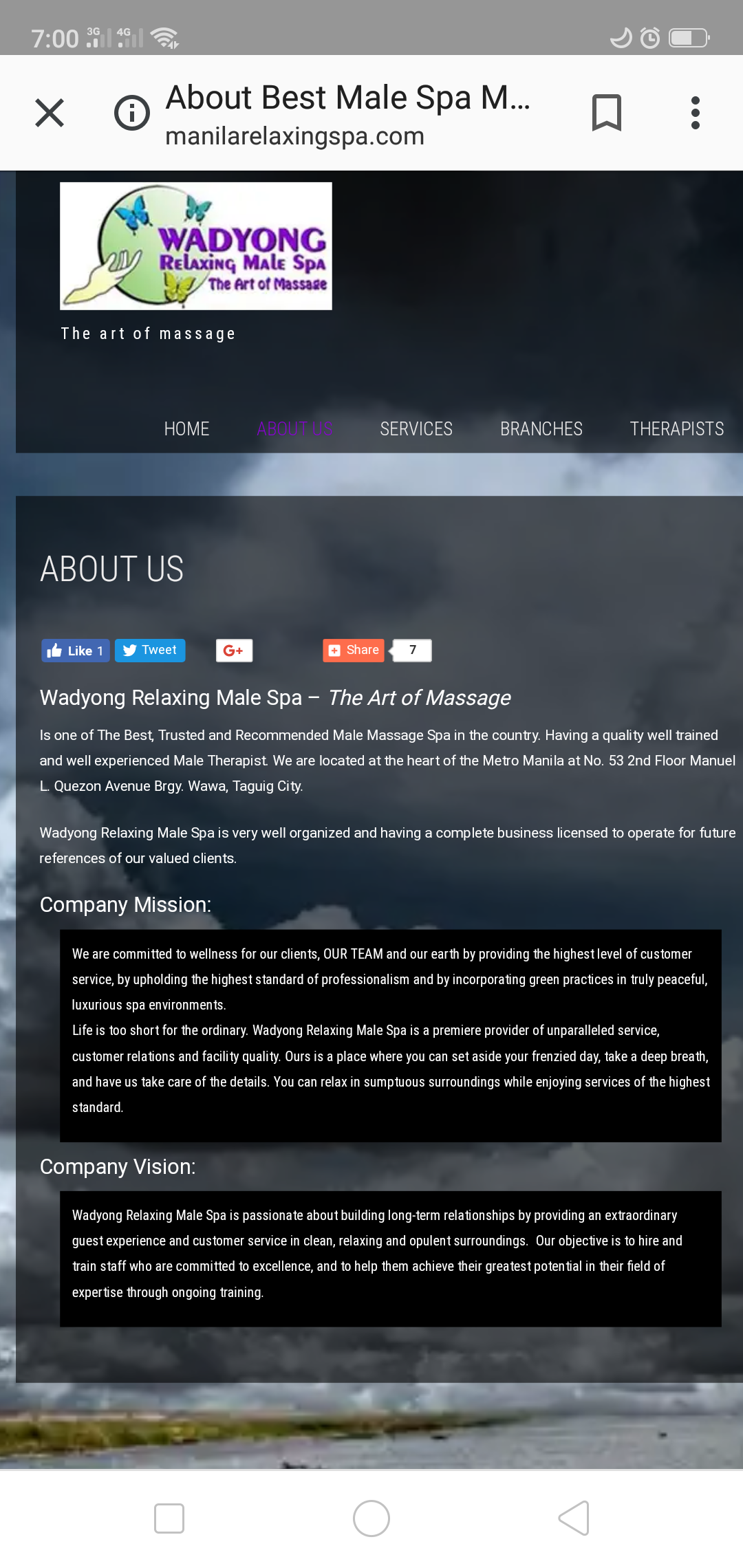 SPA WITH MALE THERAPISTS - Page 5 — LGBT Forum — PinoyExchange com