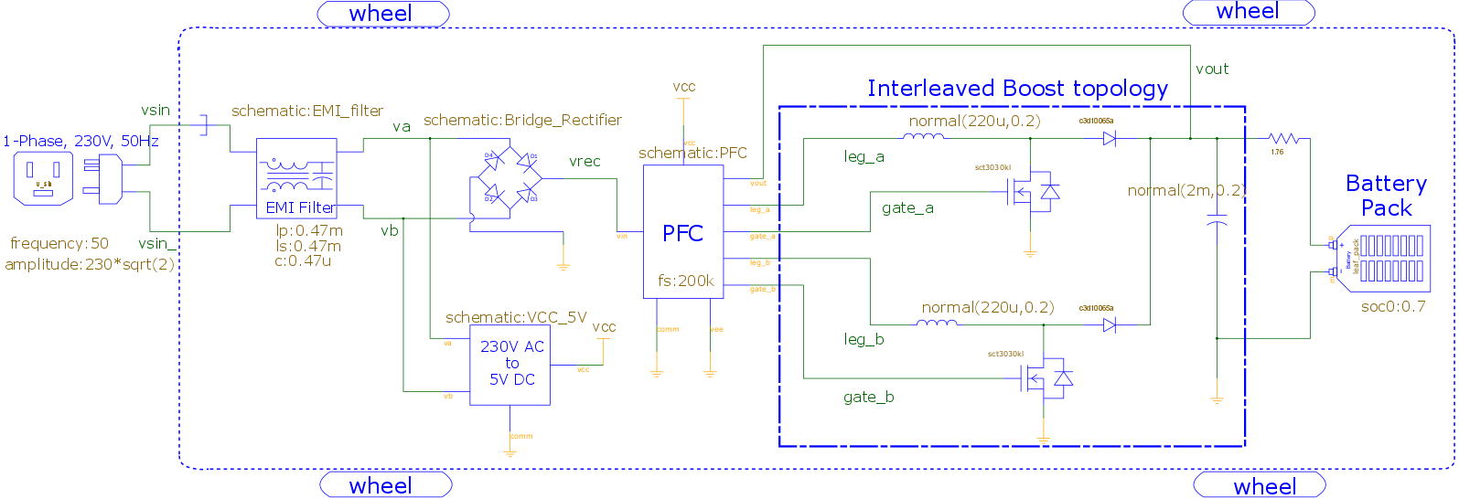 Level 2 On Board 33 Kw Battery Charger For Ev Saber Forum Lithium Circuit Diagram