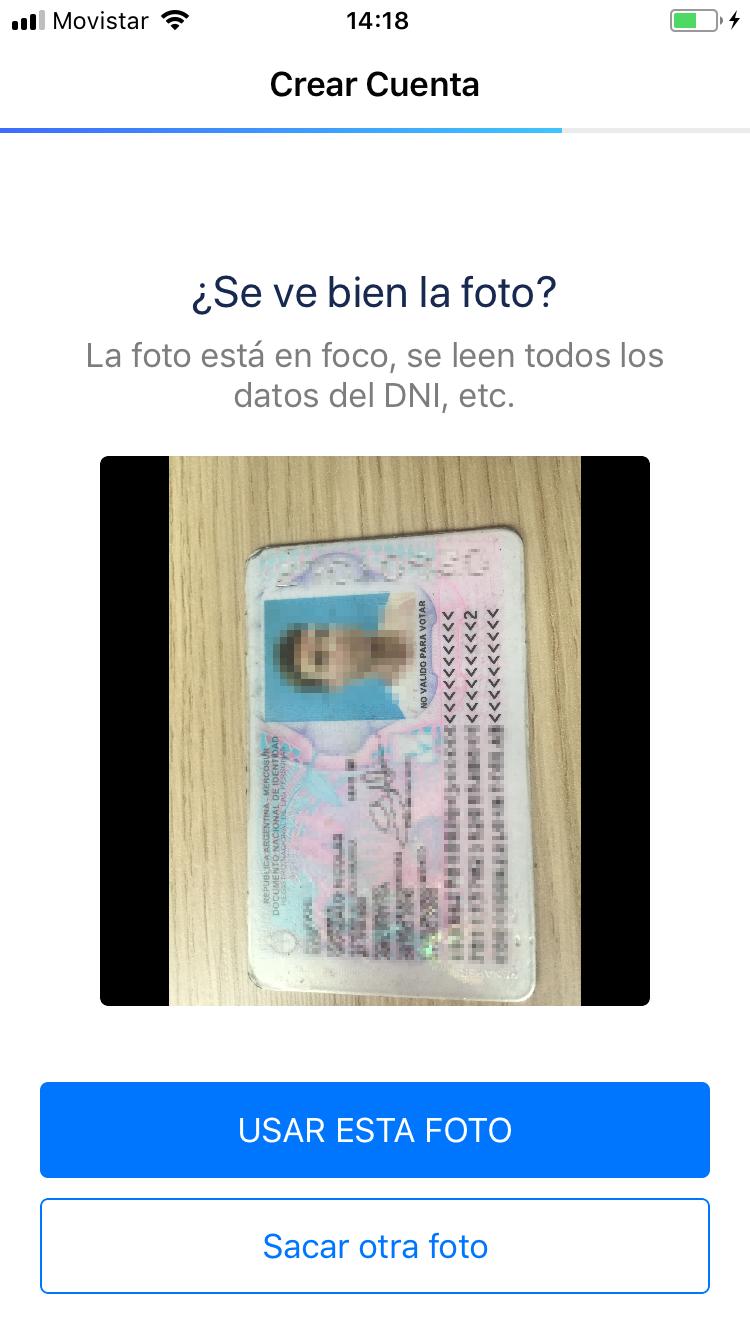 Validacin de persona para tu tarjeta Ual