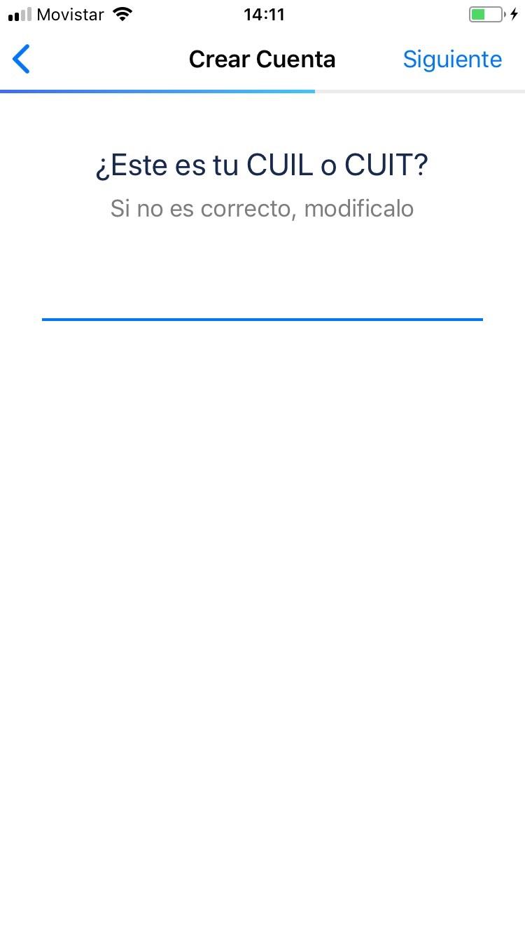 Nmero de CUIT o CUIL para activar tu tarjeta Ual
