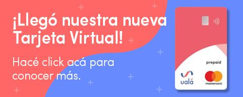 Llego la tarjeta virtual