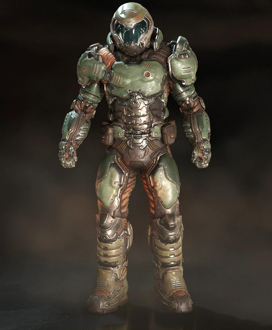 Survivor Concept The Doom Slayer Criticism Wanted Dead By