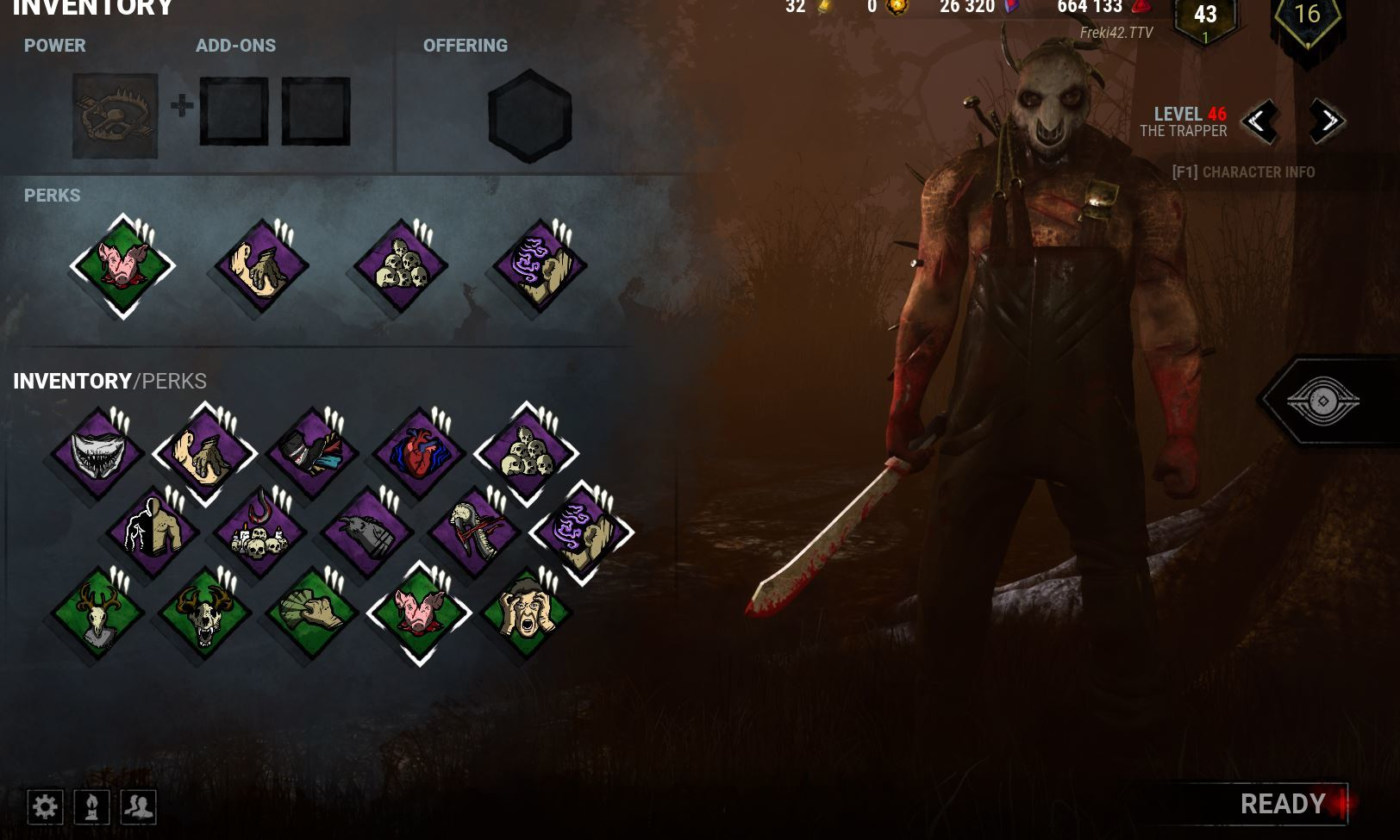 inventory screen shows only one page of all rank 3 perks  though i don't remember them all being rank 3.JPG