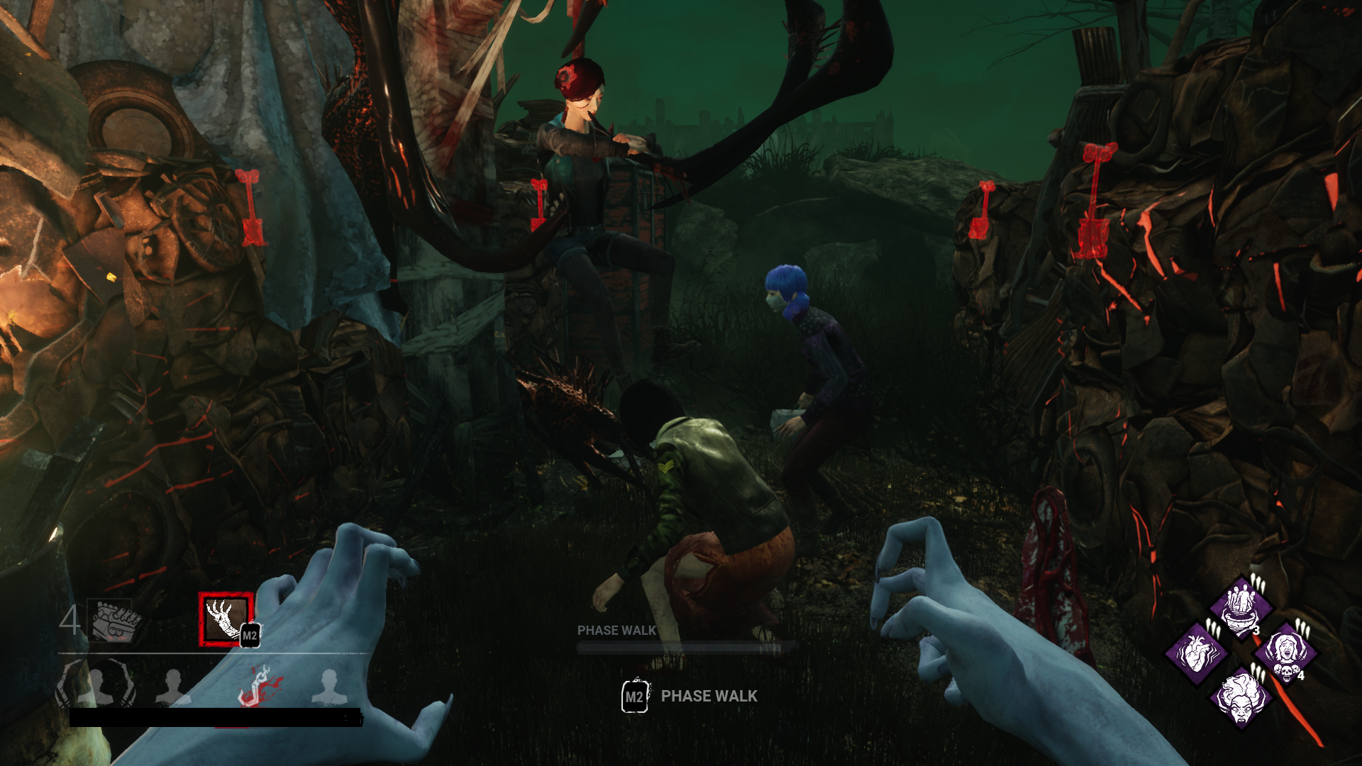 Not porn, SFW] Asian face sitting foursome — Dead By Daylight