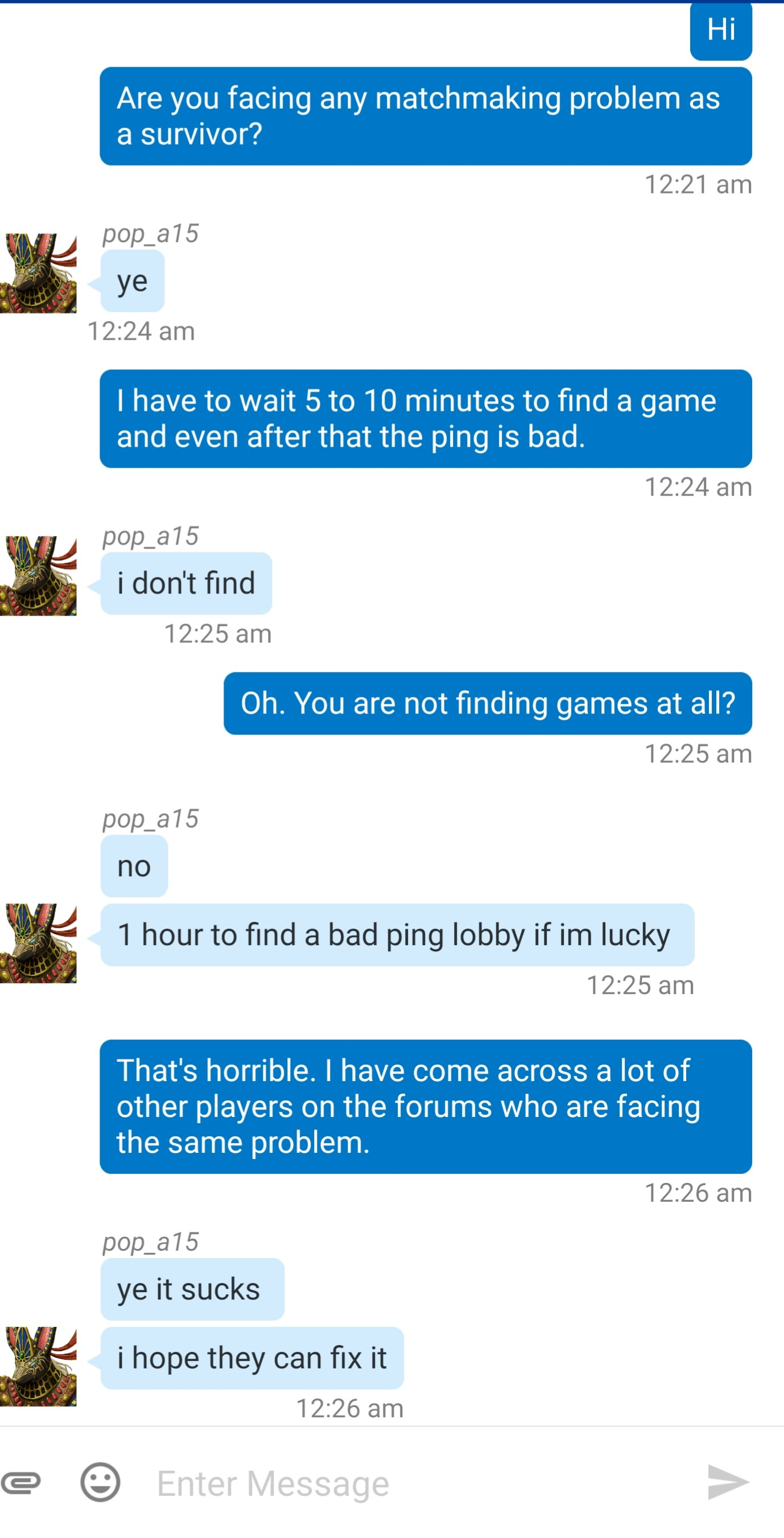 last of us matchmaking problems