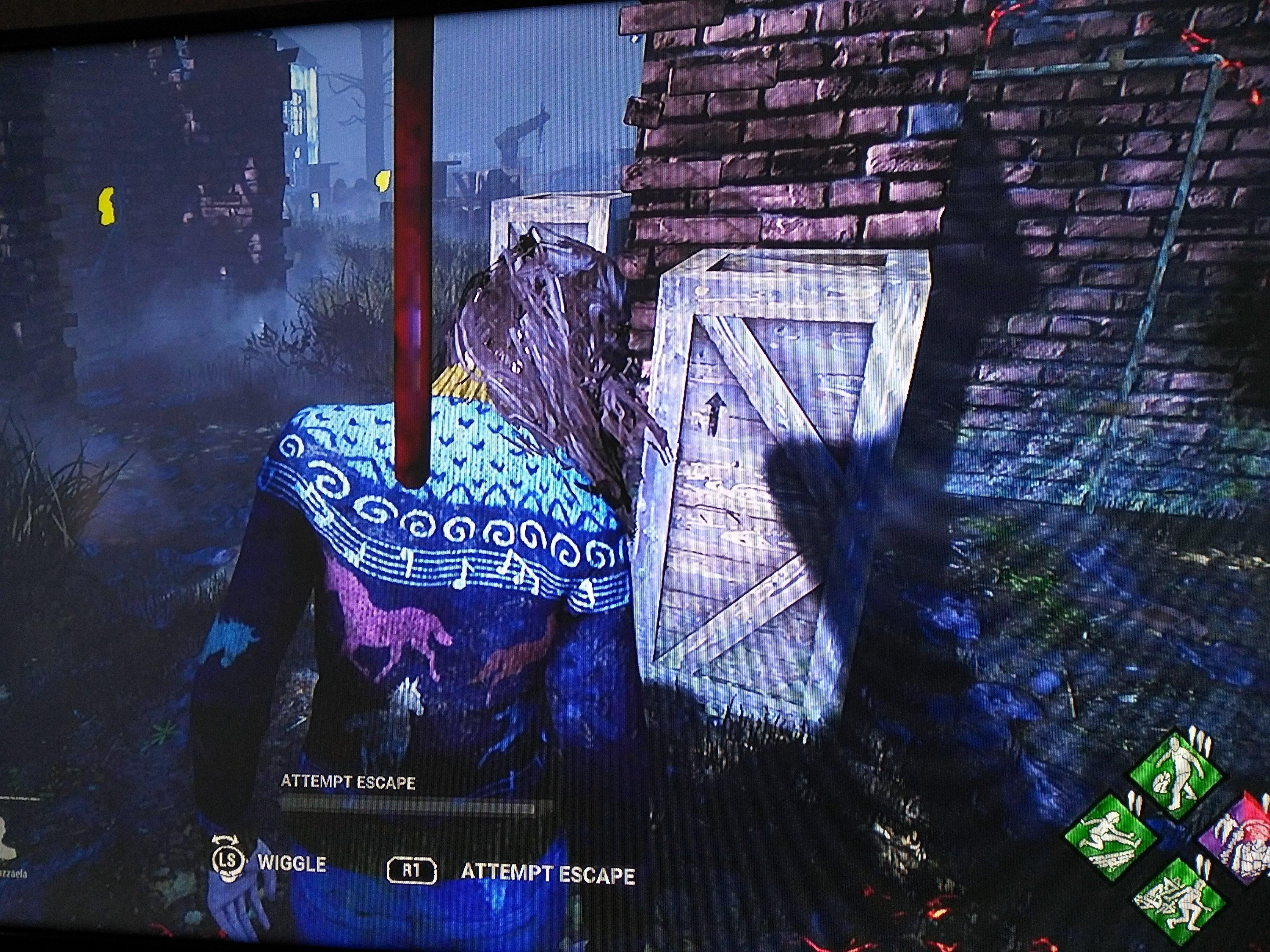 Purple wiggle dead