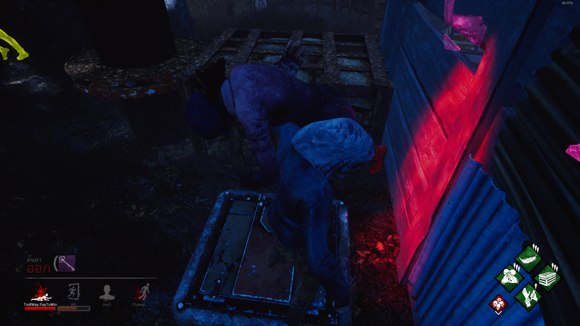 Lobby bug and Hatch bug — Dead By Daylight