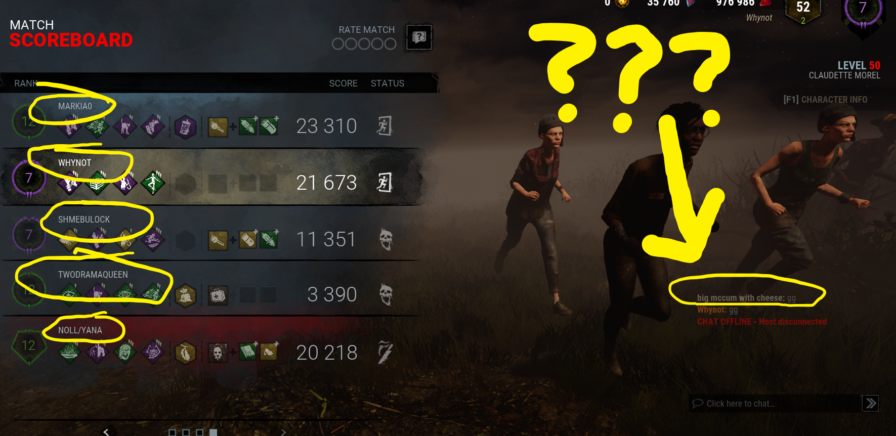 Phantom player? Spoofing? Can you matchmake as spectator