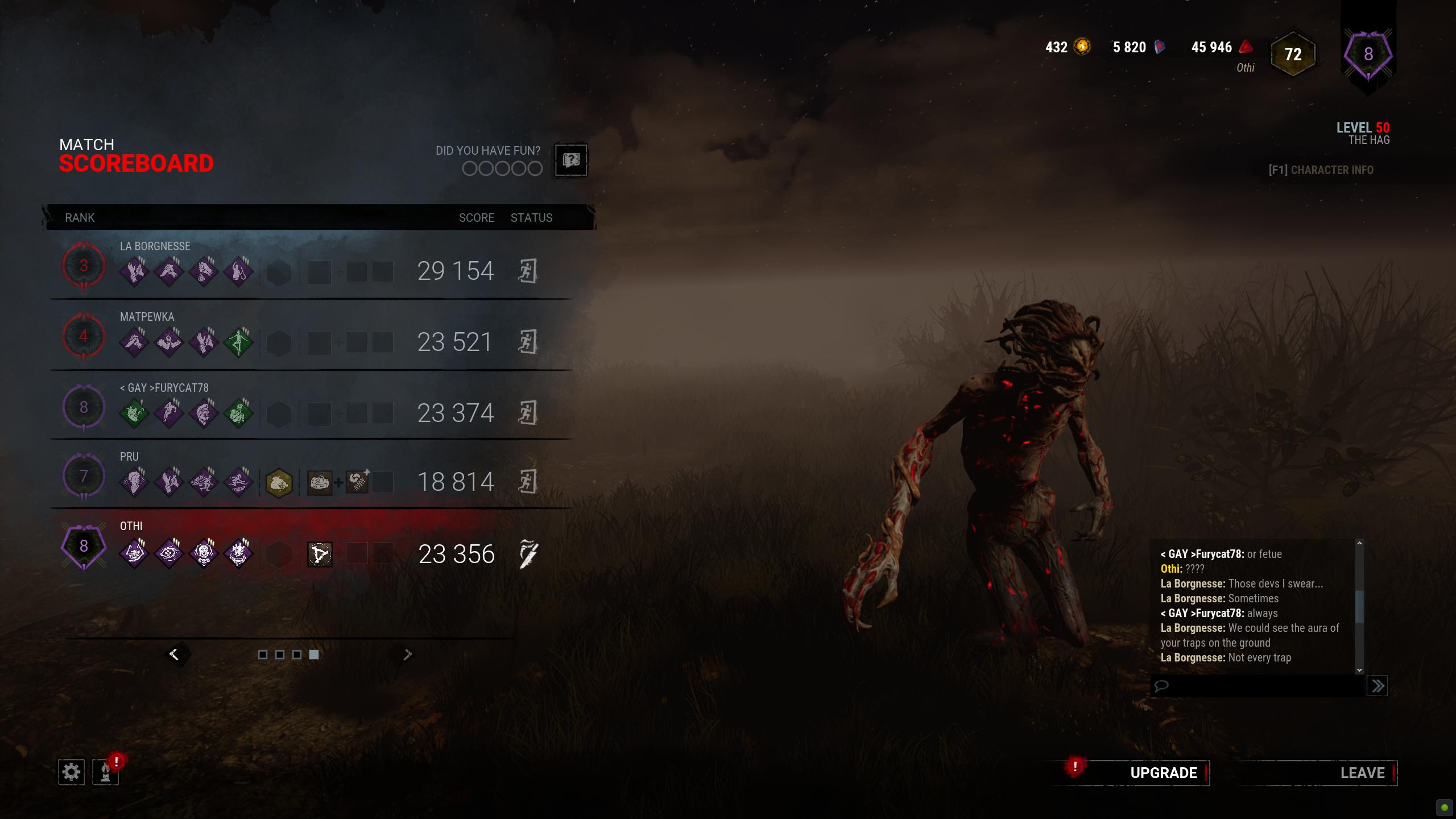 Survivor literally sees my trap aura — Dead By Daylight
