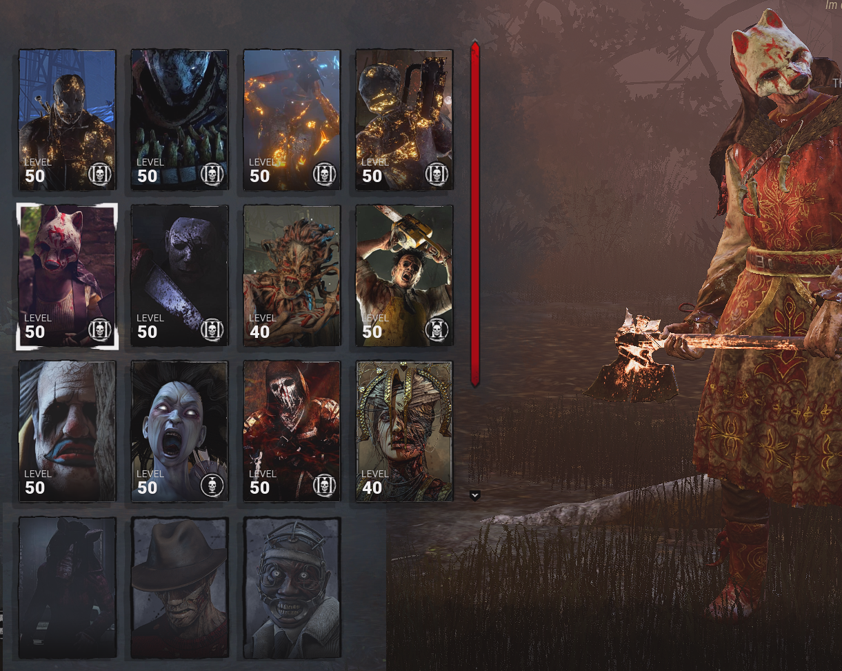 SHOWCASE new character portraits (custom) — Dead By Daylight