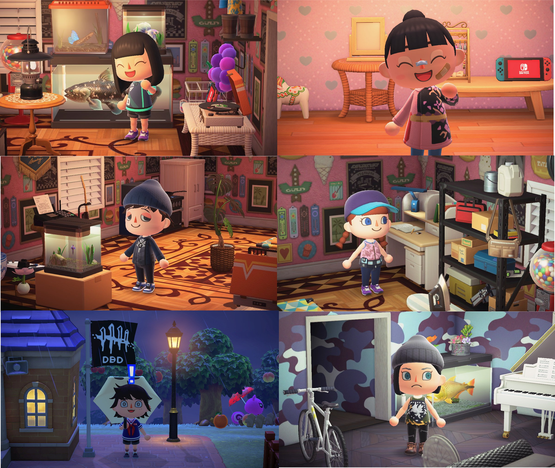 Some Dbd Characters In Animal Crossing Dead By Daylight