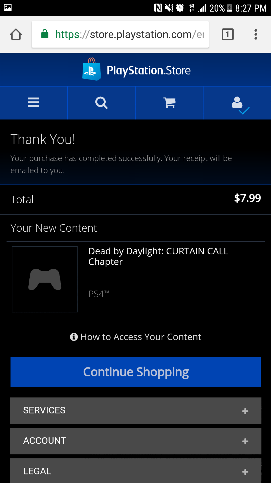 PS4 NA DLC Just Dropped - Page 3 — Dead By Daylight