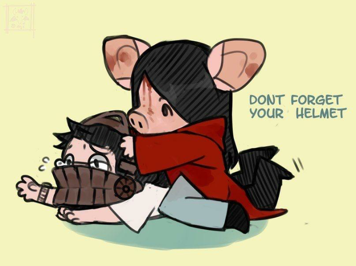the buff pig needs dead by daylight