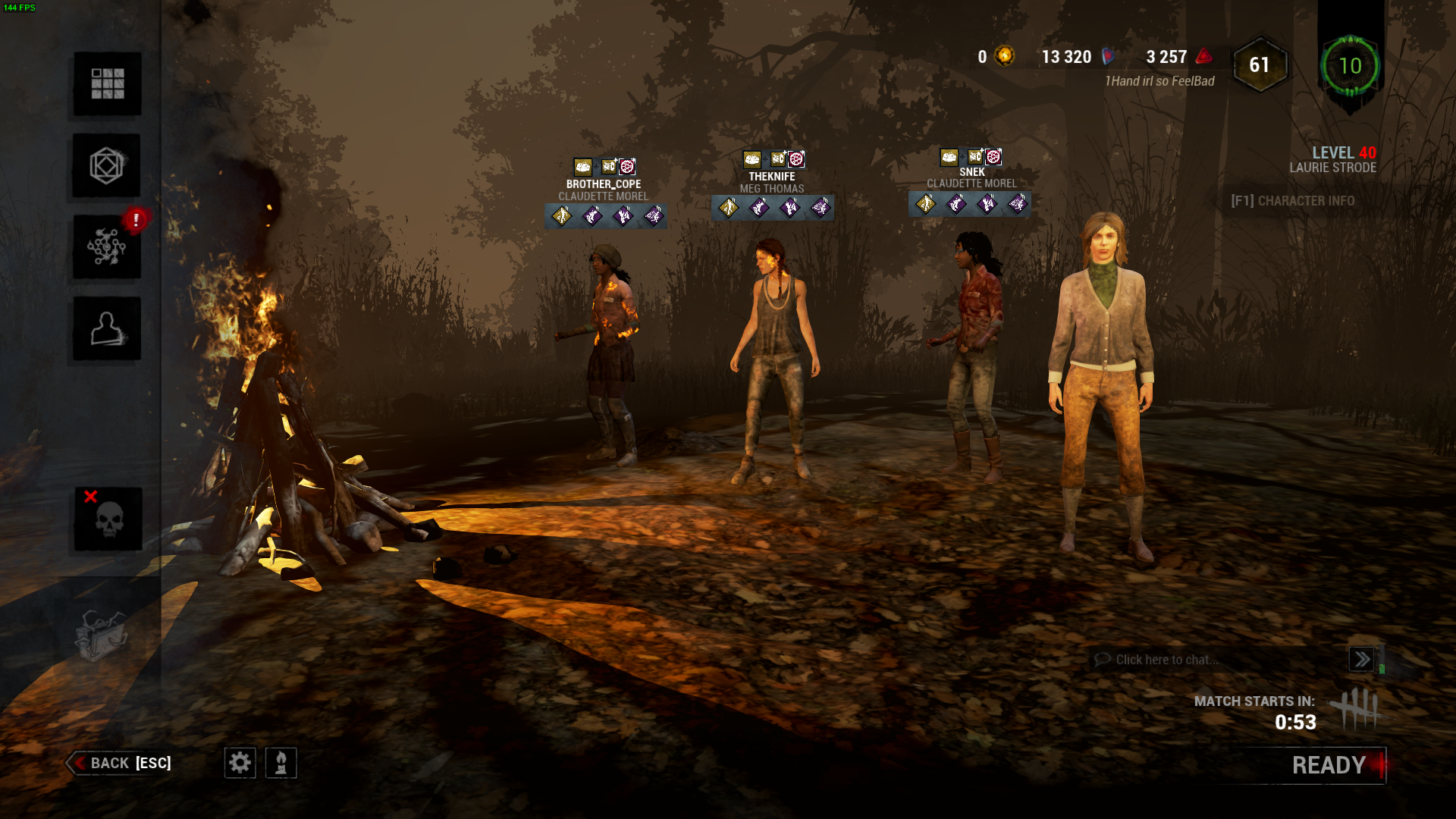 Are dedicated servers out dbd k