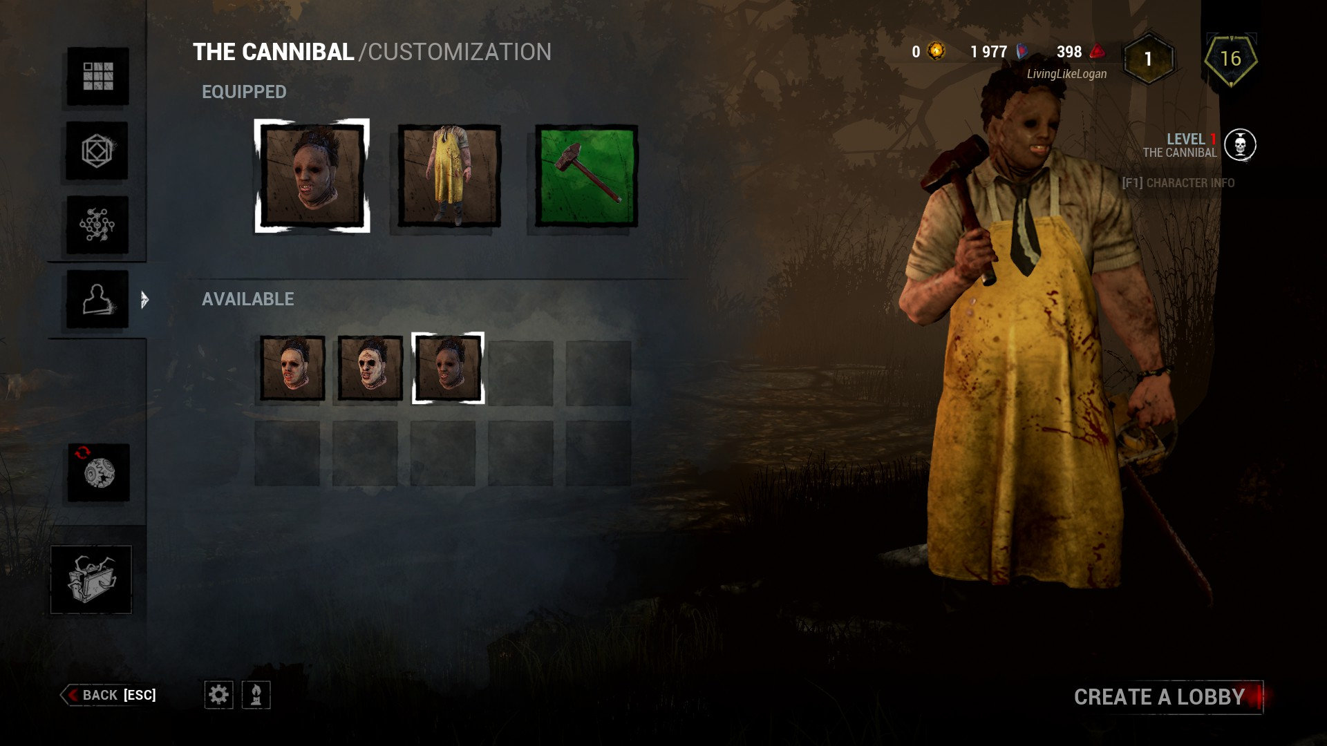 Are you not able to unlock faces for leatherface anymore  or