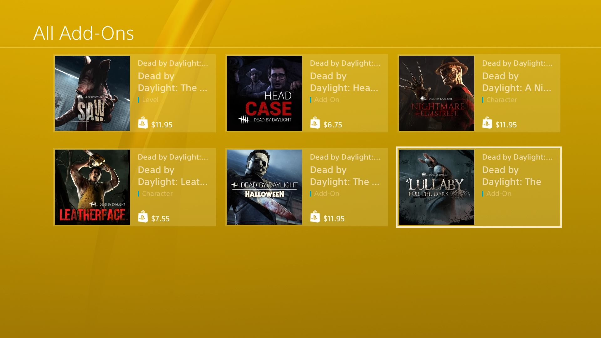 DLCs on PSN are double that of their prices on PC  Why? — Dead By