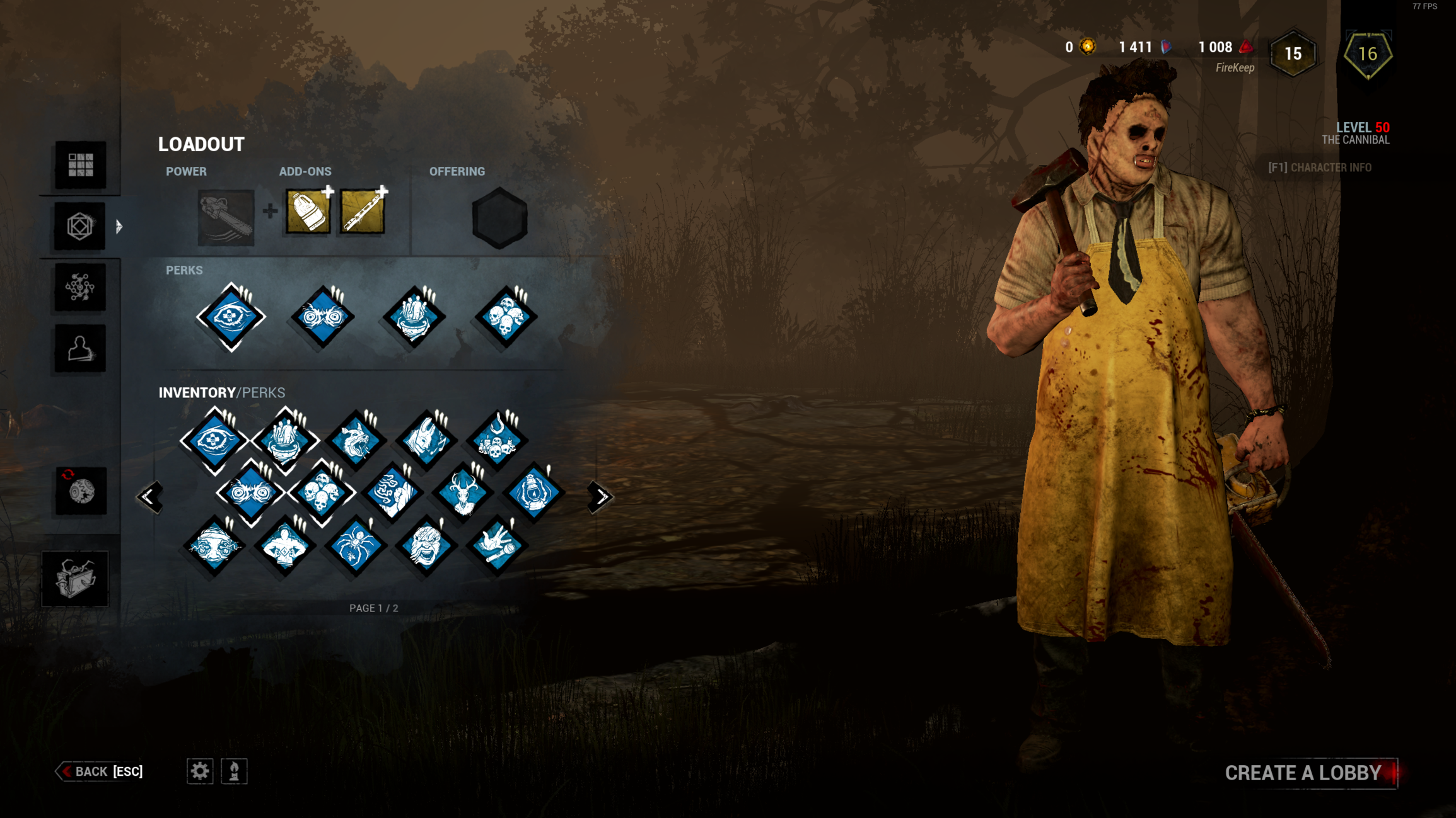 FireKeep's Blue Perk Pack v 1 0 — Dead By Daylight