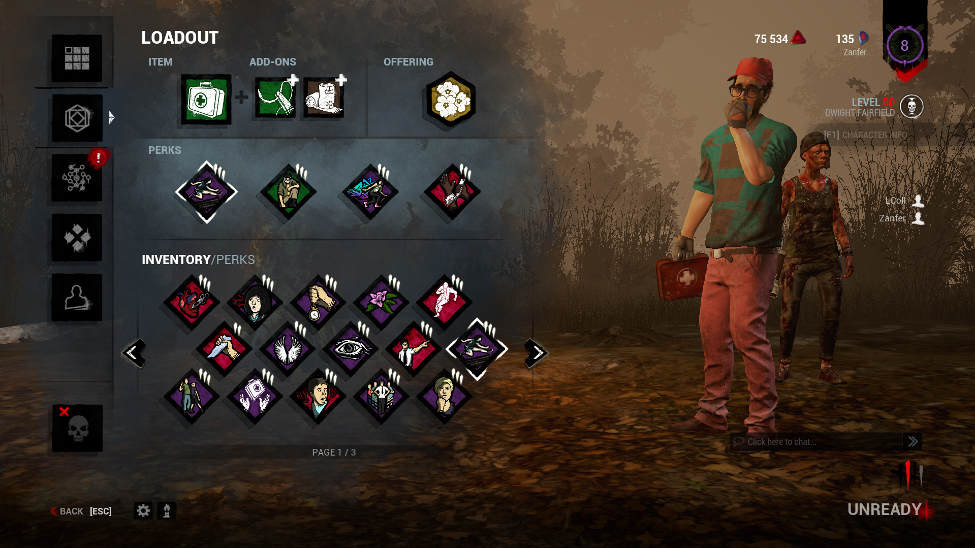 Did anyone get banned for using colored perks icons? — Dead By Daylight