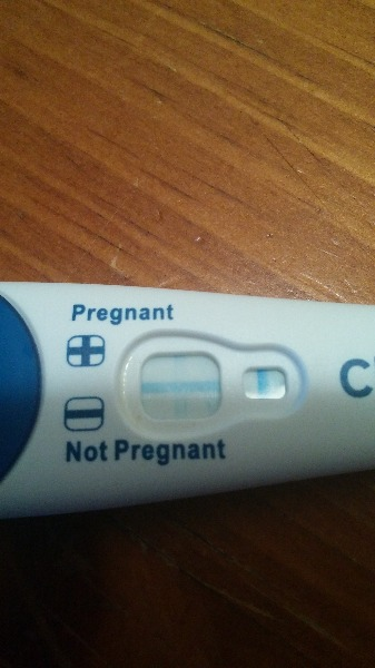Am I pregnant? Very faint line on preg test! — MadeForMums Forum
