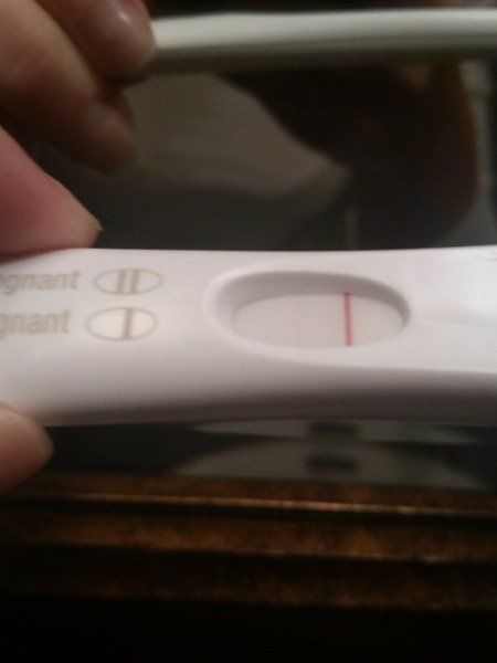 Very Very Faint Line On First Response Home Pregnancy Test