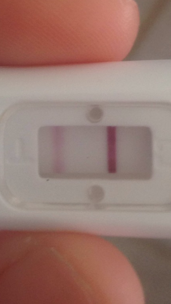 Faint line in pregnancy test — MadeForMums Forum