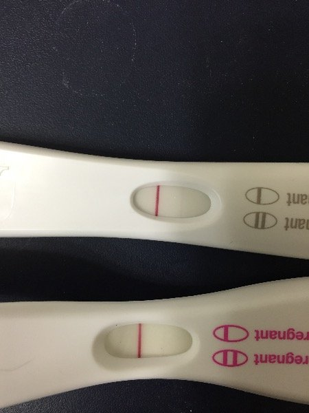 2 Faint Lines On First Response Tests And 1 Negative Clear Blue