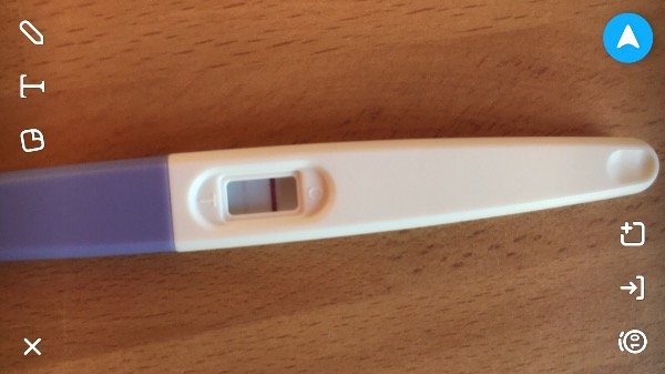 do you get a faint second line on a ovulation test if your