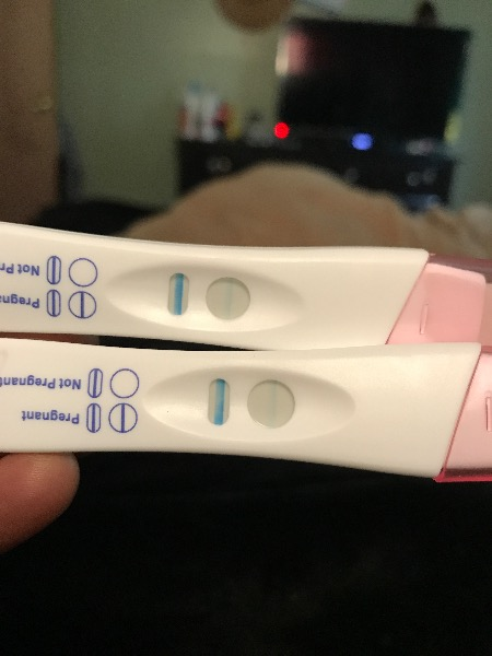 Faint line in pregnancy test - Page 2 — MadeForMums Forum