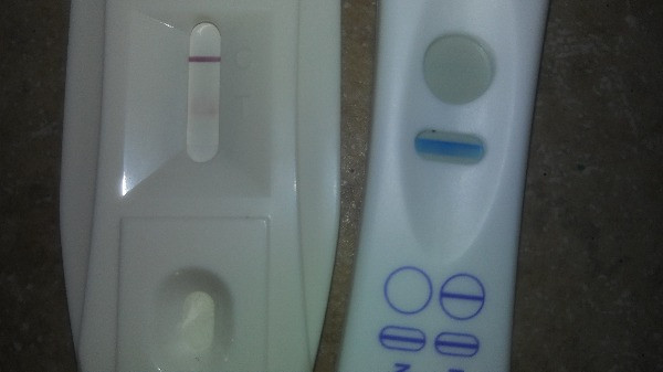 Weird Results On Pregnancy Test — MadeForMums Forum