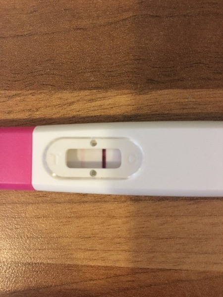 Early sign pregnancy test faint line — MadeForMums Forum