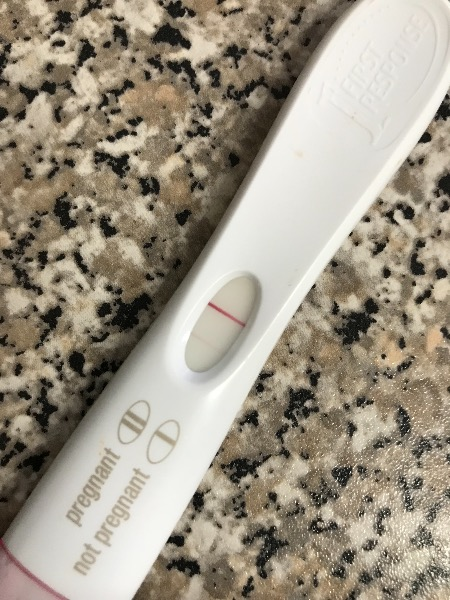Very faint BFP 4 weeks after miscarriage — MadeForMums Forum