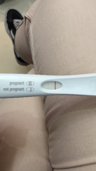 Faint positive on first response but doctors test say