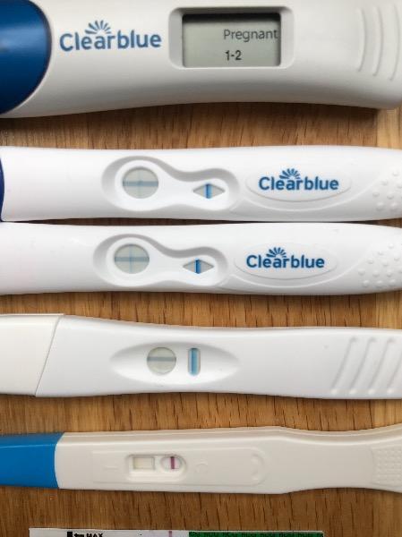 Positive Pregnancy Test Pictures Clear Blue Pregnancywalls