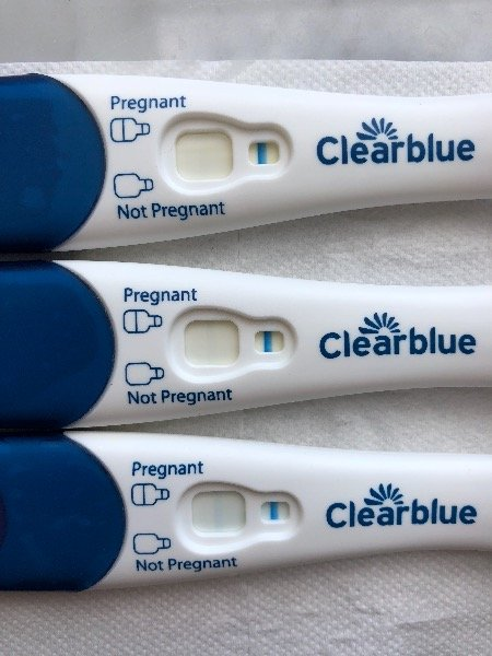 I took a clear blue early detection test 6 days before my period is