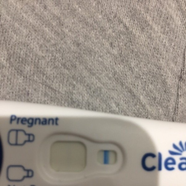 Faint line on 4 tests but digital clear blue says not