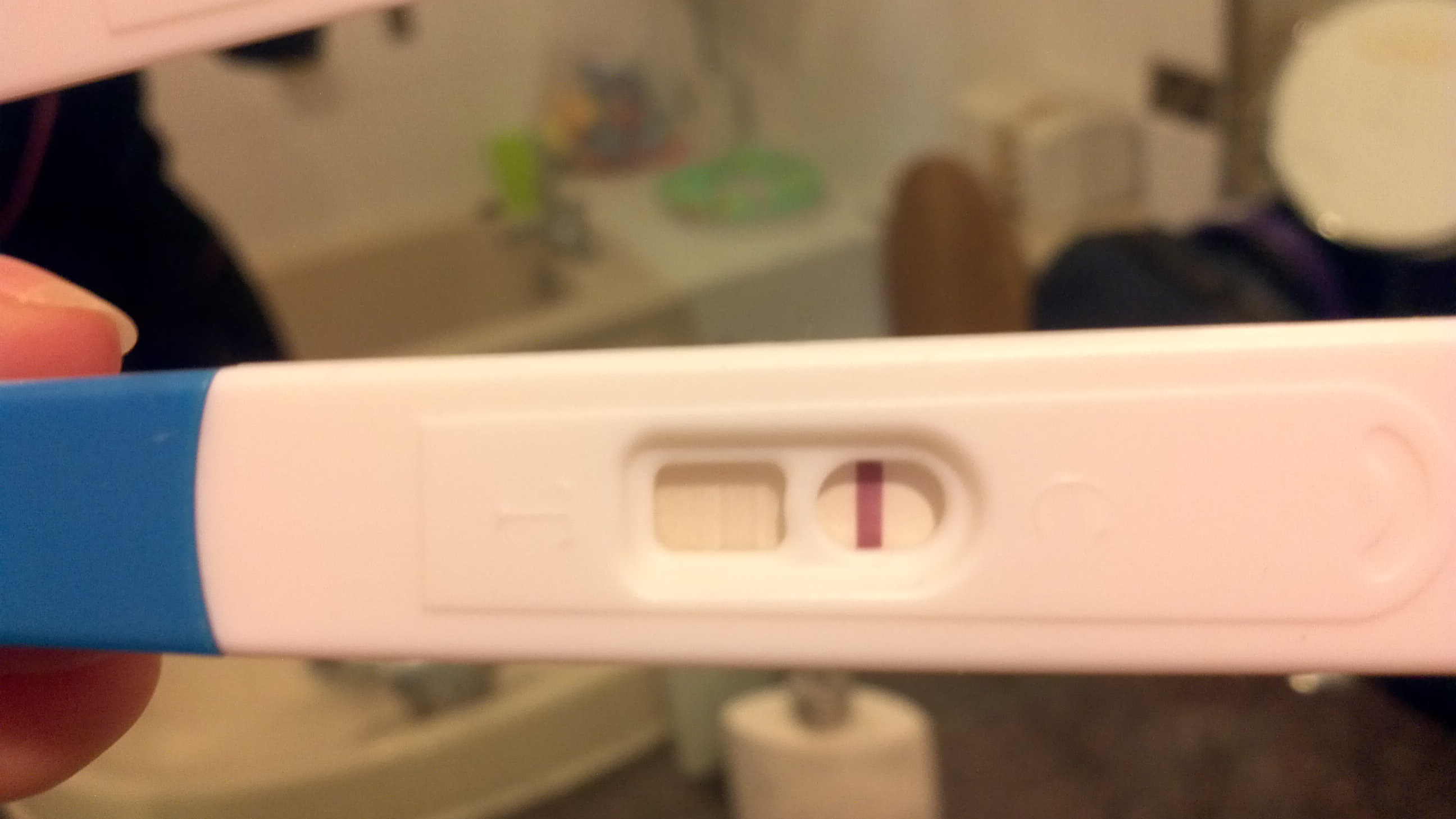 Extremely Faint Line on Pregnancy test  Help! — MadeForMums
