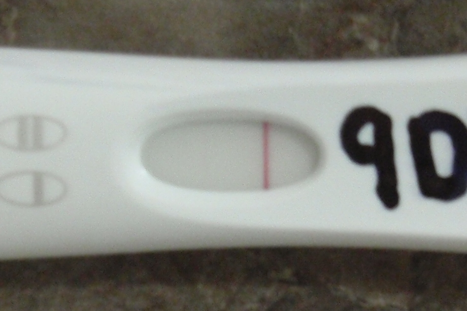 very faint line on first response pregnancy test