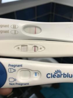 16 dpo - v faint BFP  Worried about chemical pregnancy