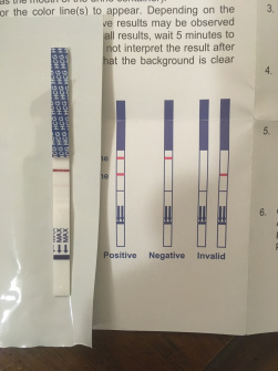5 days pre- period hcg test — MadeForMums Forum