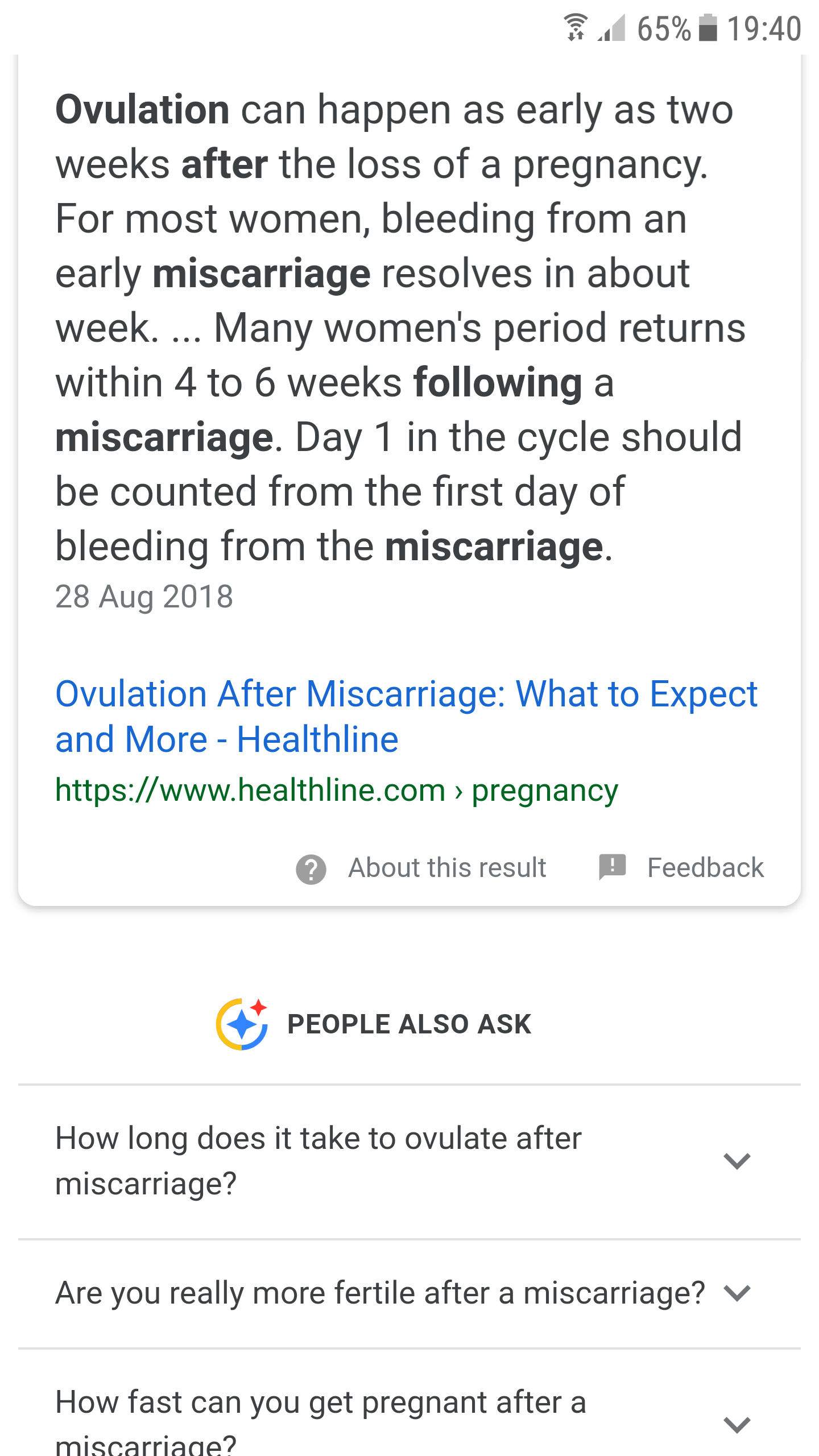 Trying after miscarriage? - Page 3 — MadeForMums Forum