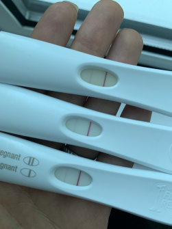 17/18 dpo and line are still very faint — MadeForMums Forum