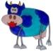 bluecow