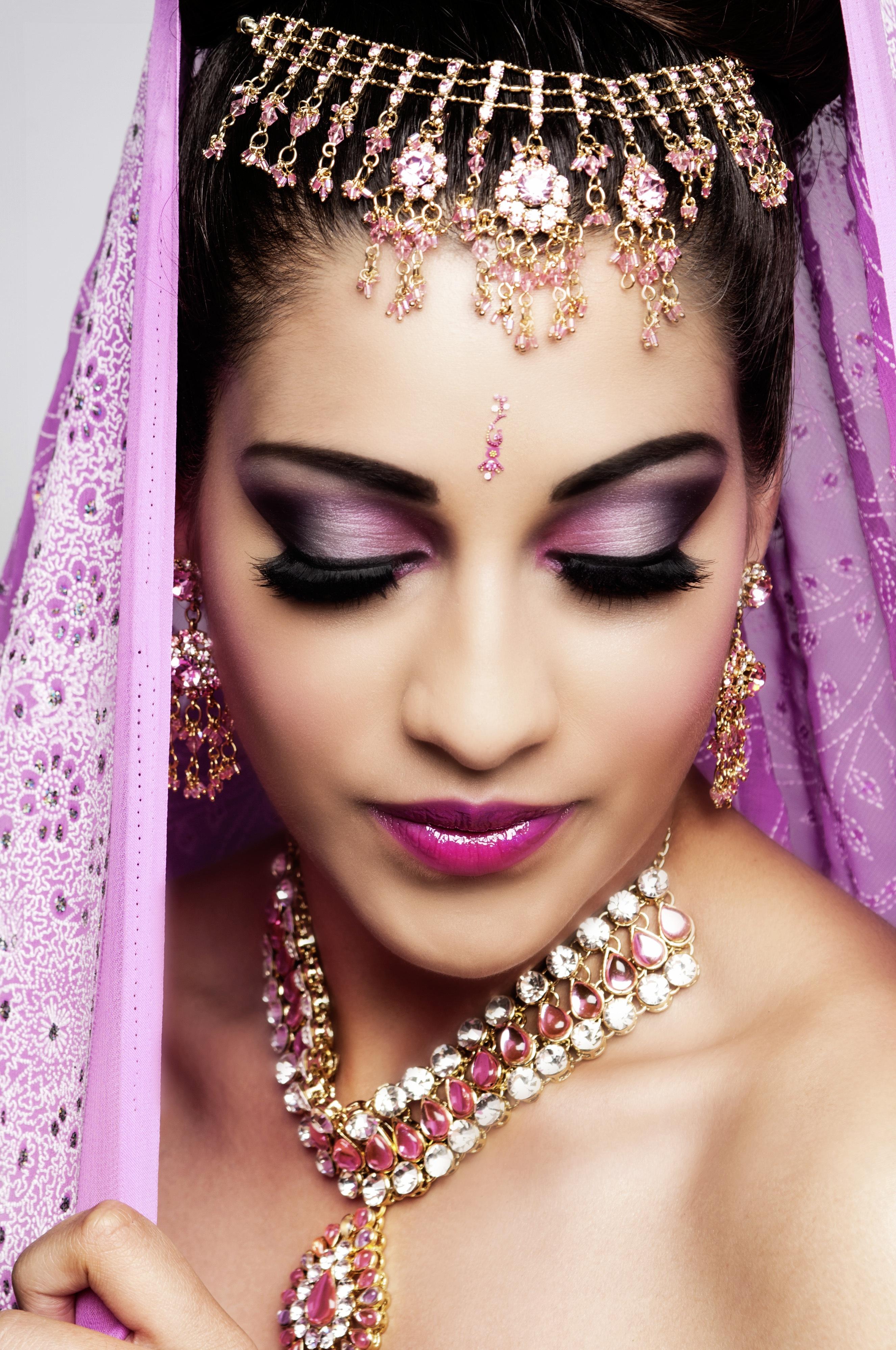 artist make up Asian wedding