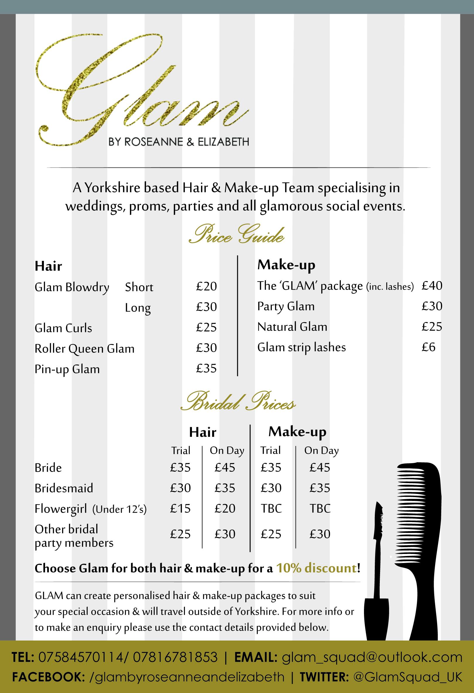 Bridal Makeup And Hair Cost Saubhaya