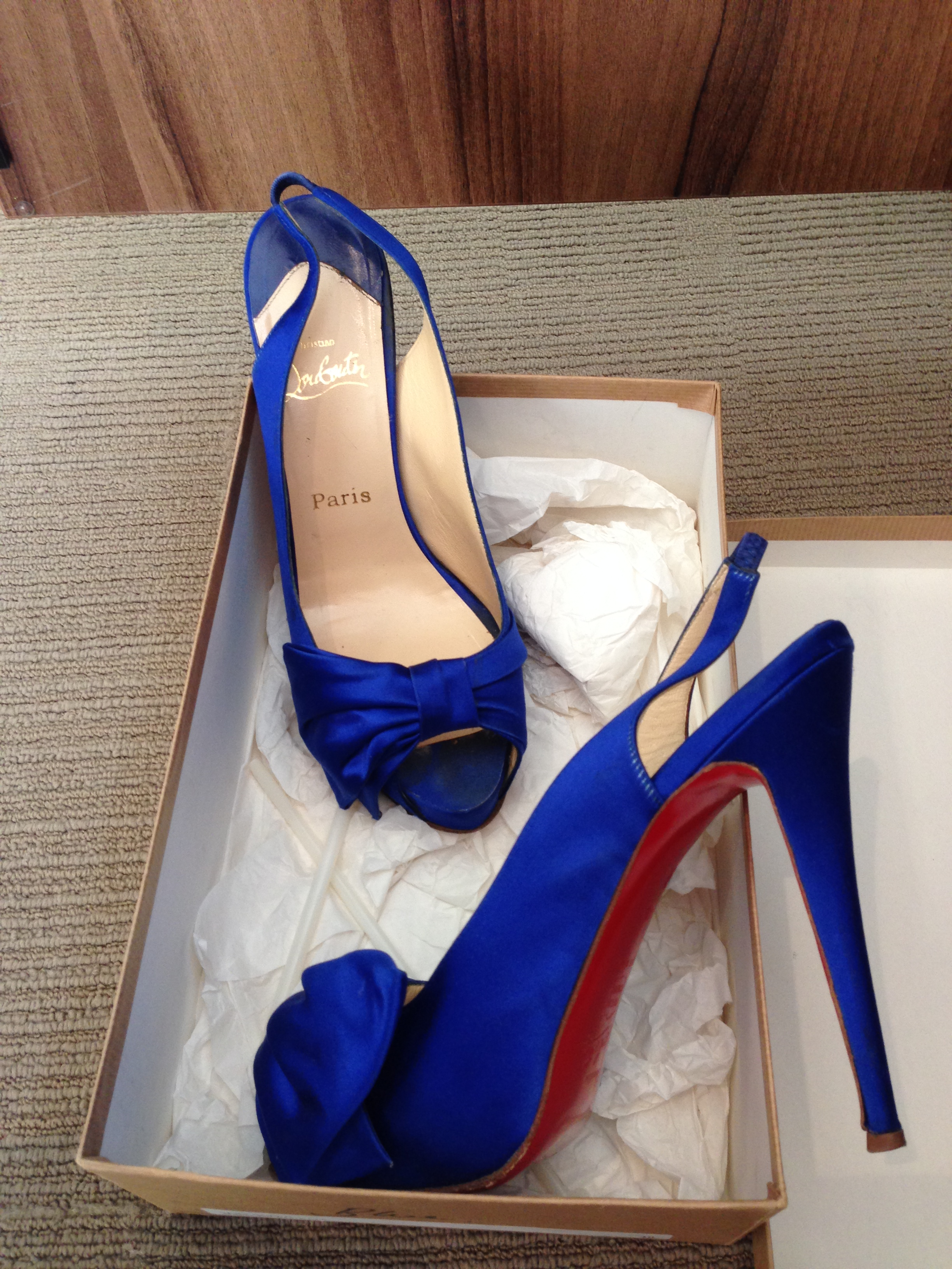 new product f8258 69ea5 Your something Blue? Christian Louboutins for sale! — You ...