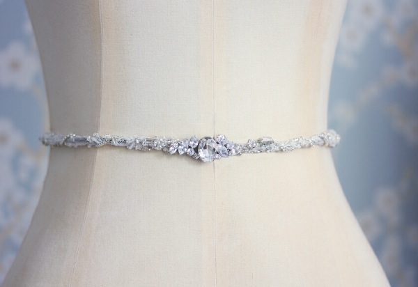Embellished Bridal Belts Sashes That Don T Break The Bank You