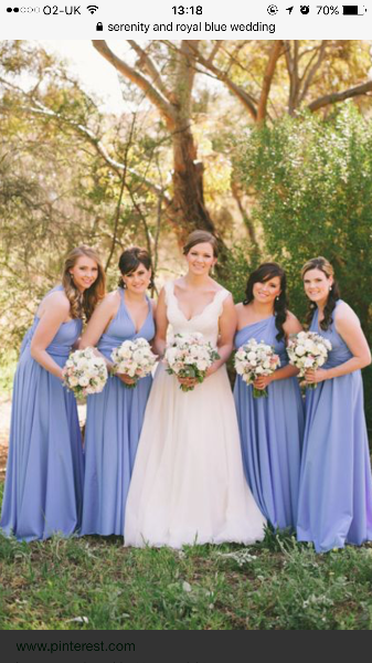 Ivory Bride Dark Blue Groom What About Bridesmaids You Your