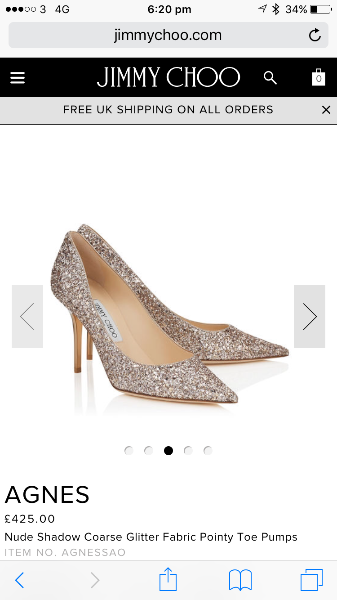 e68c2a2f8 Jimmy Choo's V Christian Louboutin! — You & Your Wedding
